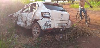 Ex-prefeito sofre acidente em Nova  Jangada