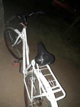 Homem é preso após  roubo  de bicicleta em igreja no centro de Nobres