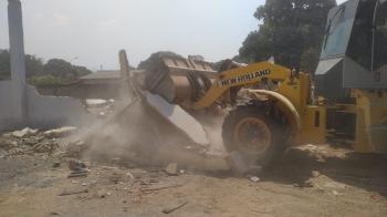 Igreja Nossa Senhora Aparecida é demolida e dará espaço para nova construção no bairro Aeroporto