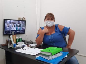 Diretora licenciada do Hospital Laura de Vicunã será uma das coordenadoras de campanha do prefeito Leocir Hanel