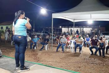ROSÁRIO OESTE   Tânia Conrado vai incentivar a agricultura familiar e fazer a produção chegar ao consumidor