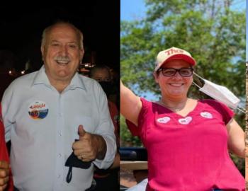 Conheça os candidatos a prefeito de Nobres; Leocir Hanel e Simone Mendes