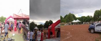 Policiais dispersam 500 pessoas em torneio de futebol
