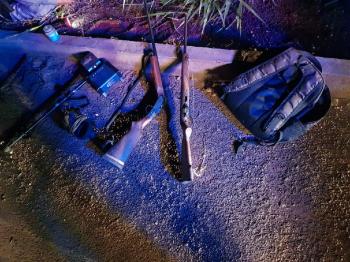Policiais evitam roubo à fazenda e apreendem espingardas, 139 munições e um detector de metal