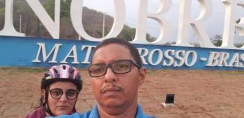 Marido de jornalista vítima da covid tem alta de UTI
