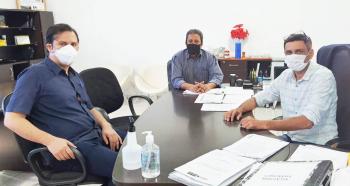 Deputado Estadual Thiago Silva visitou o prefeito Alex Berto