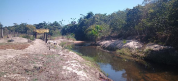 Batalhão Ambiental notifica  mulher e embarga área após flagrar crime ambiental