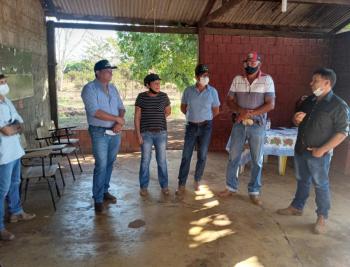 Água é tema de reunião na Comunidade do Assentamento Bonanza