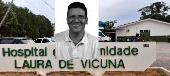 Recuperado Dr.Esmeraldo  volta atender  no hospital Laura de Vicunã
