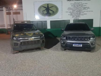 Policiais de MT são presos com Jeep roubado em cidade do Rio de Janeiro