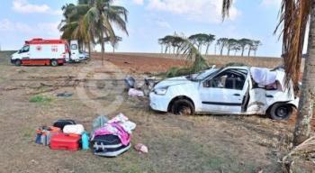 Mãe morre e outras 4 pessoas ficam feridas em acidente