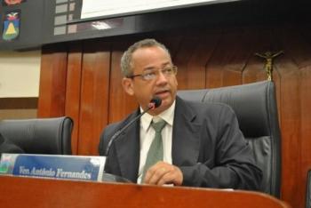 Prefeito lamenta a morte do ex-vereador por Cuiabá Antônio Fernandes