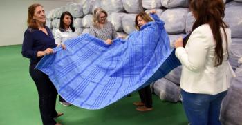 Campanha Aconchego; Setasc distribuirá 100 mil cobertores às famílias em extrema pobreza de MT