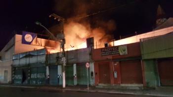 Incendio na capital