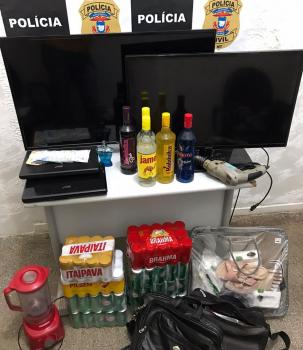 Polícia Civil prende três pessoas por participação em roubo a residência de VG