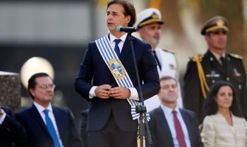 Luis Alberto Lacalle Pou promete governo incansável no Uruguai