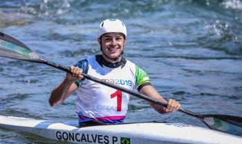 Canoagem slalom: Pepê Gonçalves garante vaga em Tóquio 2020