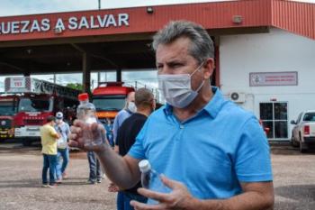 """""""Defendo o isolamento social e não econômico"""", explica Mauro em MT"""