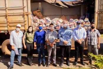 Usina de Sinop segue distribuindo cestas básicas