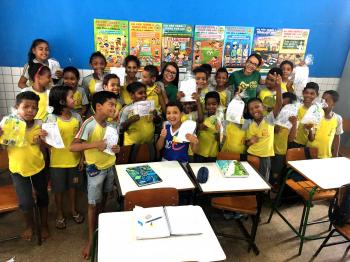 Procon desenvolve trabalho educativo nas escolas municipais