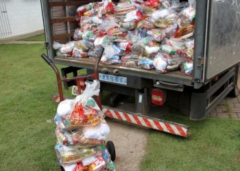 Alimentos arrecadados na 32ª corrida Bom Jesus de Cuiabá serão entregues à entidades sociais