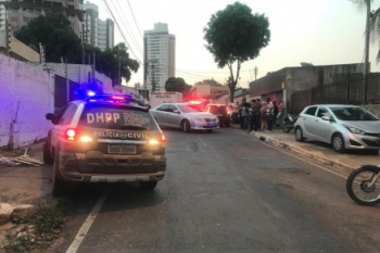Foto: Cristina Mayumi/TVCA O latrocínio aconteceu no Jardim Kennedy, em Cuiabá