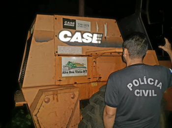 Polícia Civil prende servidor público por uso indevido de maquinário de prefeitura