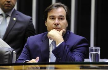 O presidente da Câmara, Rodrigo Maia (DEM-RJ) — Foto: Cleia Viana/Câmara dos Deputados