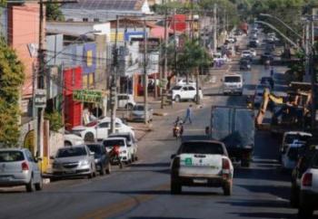 No 1º dia de lockdown, 80% do comércio de Cuiabá abre; em VG só 10% funciona