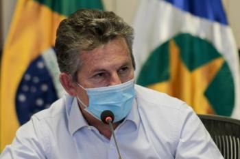 Após mal-estar, governador Mauro Mendes é internado com pneumonia