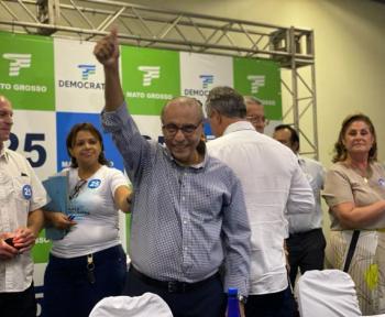 DEM aprova Júlio Campos como 1º suplente de Nilson Leitão na disputa ao Senado