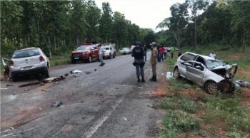 Acidente entre Gol e Pálio deixa três mortos em rodovia; mulher e adolescentes se feriram