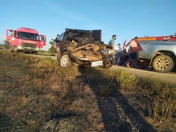 Vice-prefeito de Cáceres e outras 3 pessoas sofrem acidente em MT