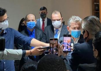 Mauro e Pivetta viajam à Bolívia e presidente da AL assume o Governo de MT