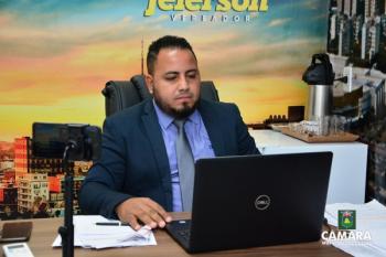 Pastor Jeferson fiscaliza obras do PSF do Novo Horizonte