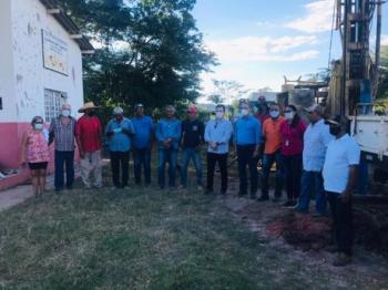 Poço instalado pela Metamat em Santo Antônio beneficiará 300 pessoas