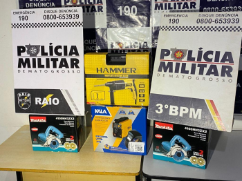 RAIO prende suspeito por furto a loja de departamento na Avenida do CPA
