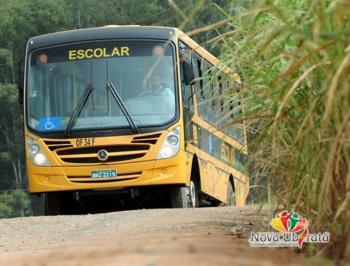 Transporte escolar, municípios estão na expectativa de receber recursos