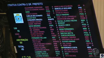 Câmara do Rio rejeita pedido de impeachment de Crivella