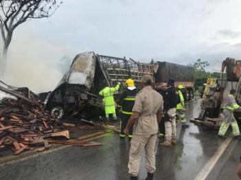 Explosão mata três pessoas carbonizadas próximo a Cuiabá