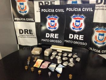 Polícia Civil apreende maconha e prende traficante no bairro Passaredo na Capital