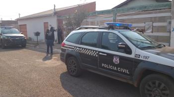 Polícia Civil cumpre mandados de busca e apreensão contra suspeitos de violência doméstica na Capital