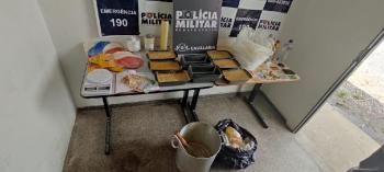 Cavalaria da PM prende quadrilha e fecha laboratório de drogas no Rio dos Peixes