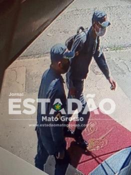 Bandidos usam farda da PM para tentar roubar joalheria no CPA