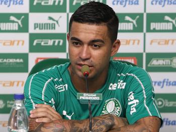 Dudu diz torcer por Palmeiras X Corinthians na Libertadores