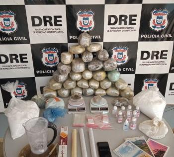 Polícia Civil apreende 17 quilos de maconha e prende um suspeito em Várzea Grande