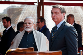 Brasil e Índia assinam acordos em tecnologia, energia e segurança