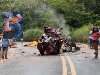 Cantor de lambadão morre em acidente trágico na MT-251