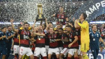 É campeão! Flamengo vence o Independiente del Valle com brilho de Gabigol e Gerson e conquista a Recopa