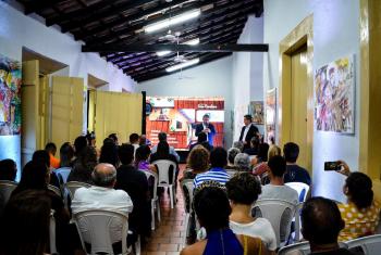 Classe cultural prestigia entrega da obra e aprova revitalização